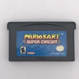 Mario Kart Super Circuit Nintendo Gameboy Game 2001
