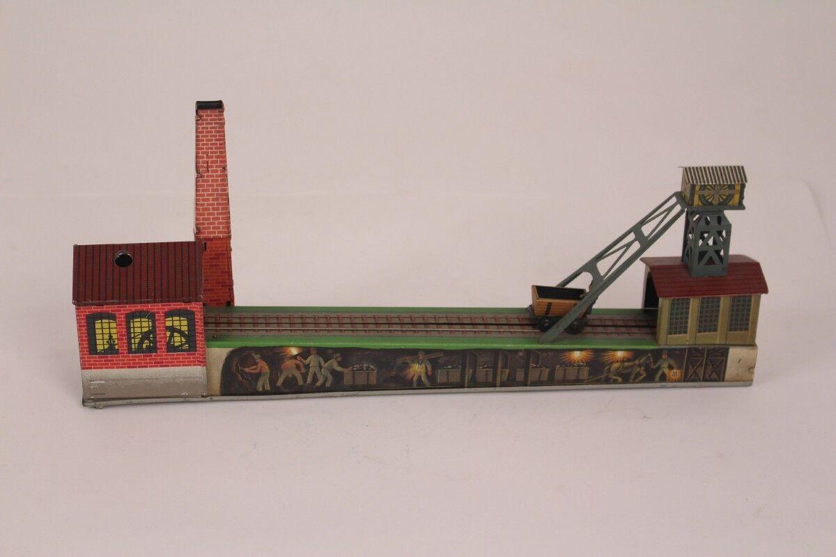 Arnold Bergwerkbahn Cleats Fireplace Cart 30er Sheetmetal Rail Tin Toy