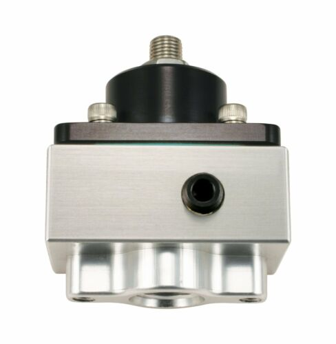 QFT 30-1803 Billet Regulator fitting for boost referenced applications #8 AN O-R