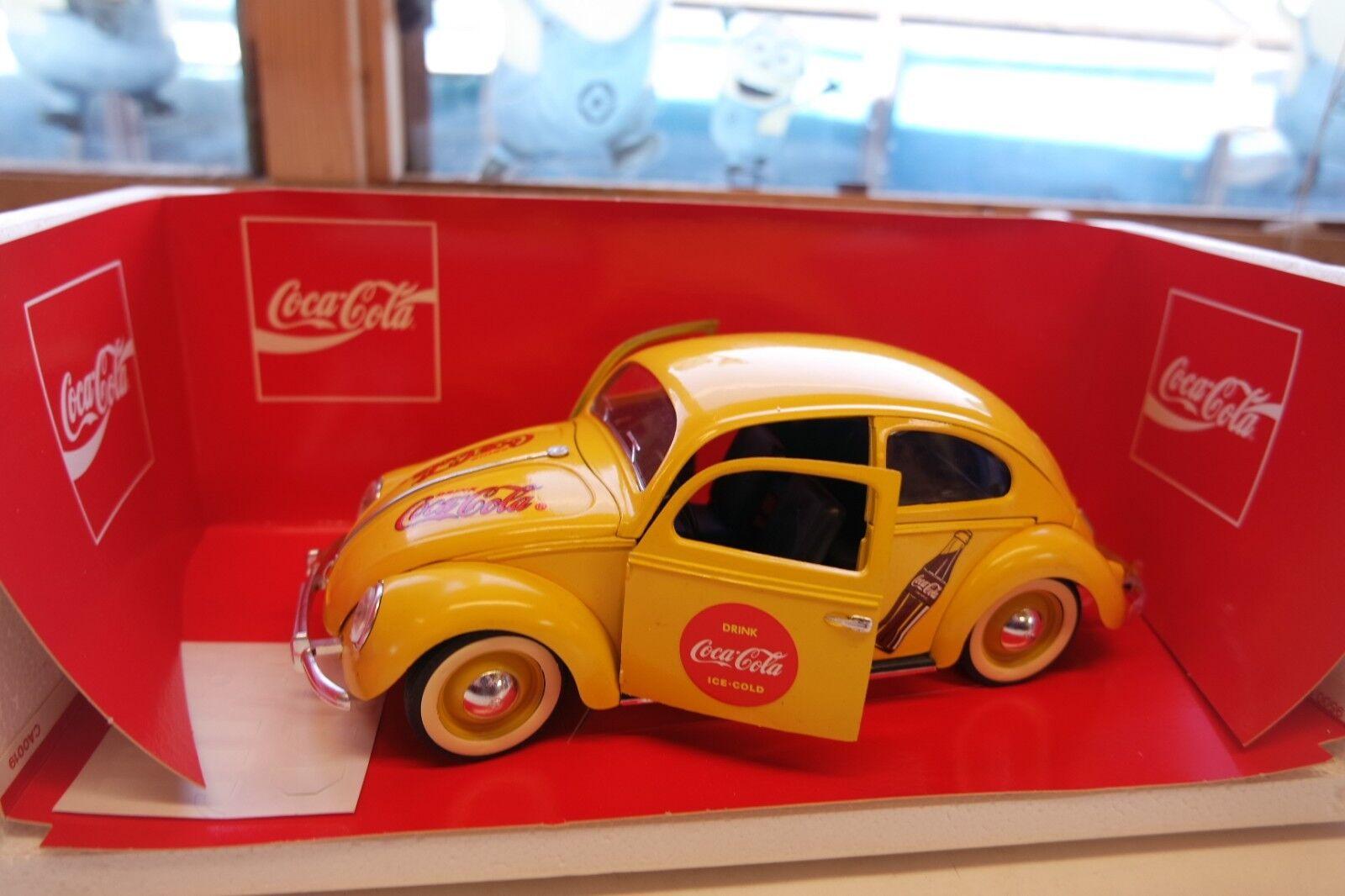 1 18 Solido  9506 Volkswagen Beetle VW COCA-COLA RARE objet Coccinelle Sedan