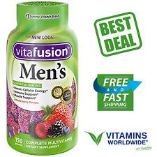 Vitafusion Mens Gummy Vitamins 150 Count 885567558290