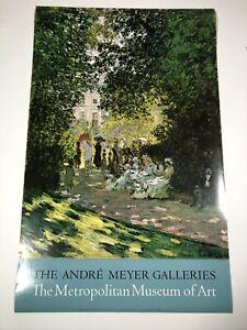 Claude-Monet-Poster-Metropolitan-Museum-Of-Art-Andre-Meyer-Galleries-38-034-x-24-034