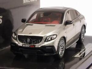 Brabus 850 4x4 Coupe Mercedes Gle 63s 2016 Argent 1:43 Minichamps 437034314