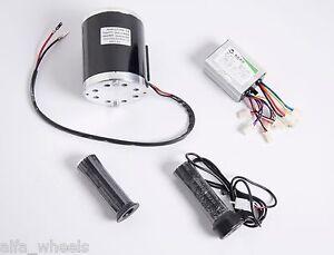 800 Watt 36 Volt electric motor kit w base speed control & Throttle f scooter