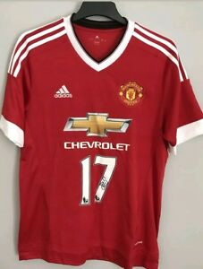 18de4f31a17 Image is loading Daley-Blind-Signed-Manchester-United-Shirt