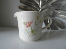 Milk jug small Corning ware floral off white brand new
