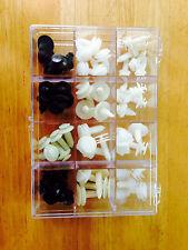 60 Interior Door Trim Plastic Panel Retainers Clips Kit Camaro Car Truck 113-004