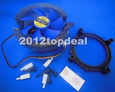 Computers/tablets & Networking Radient Cpu Cooler Cooling Heatsink Fan Lga775/1155/1156 Amd 754 Am2/am2+/am3