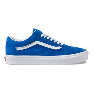 Details about New Vans Old Skool Pig Suede Princess BlueTrue White Sneakers Skate Shoes 2019