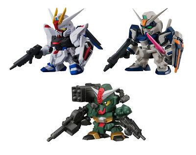 Bandai SD Gundam Figure Dash 07 Gashapon GN-0000 /& 0 Raiser 2 pcs