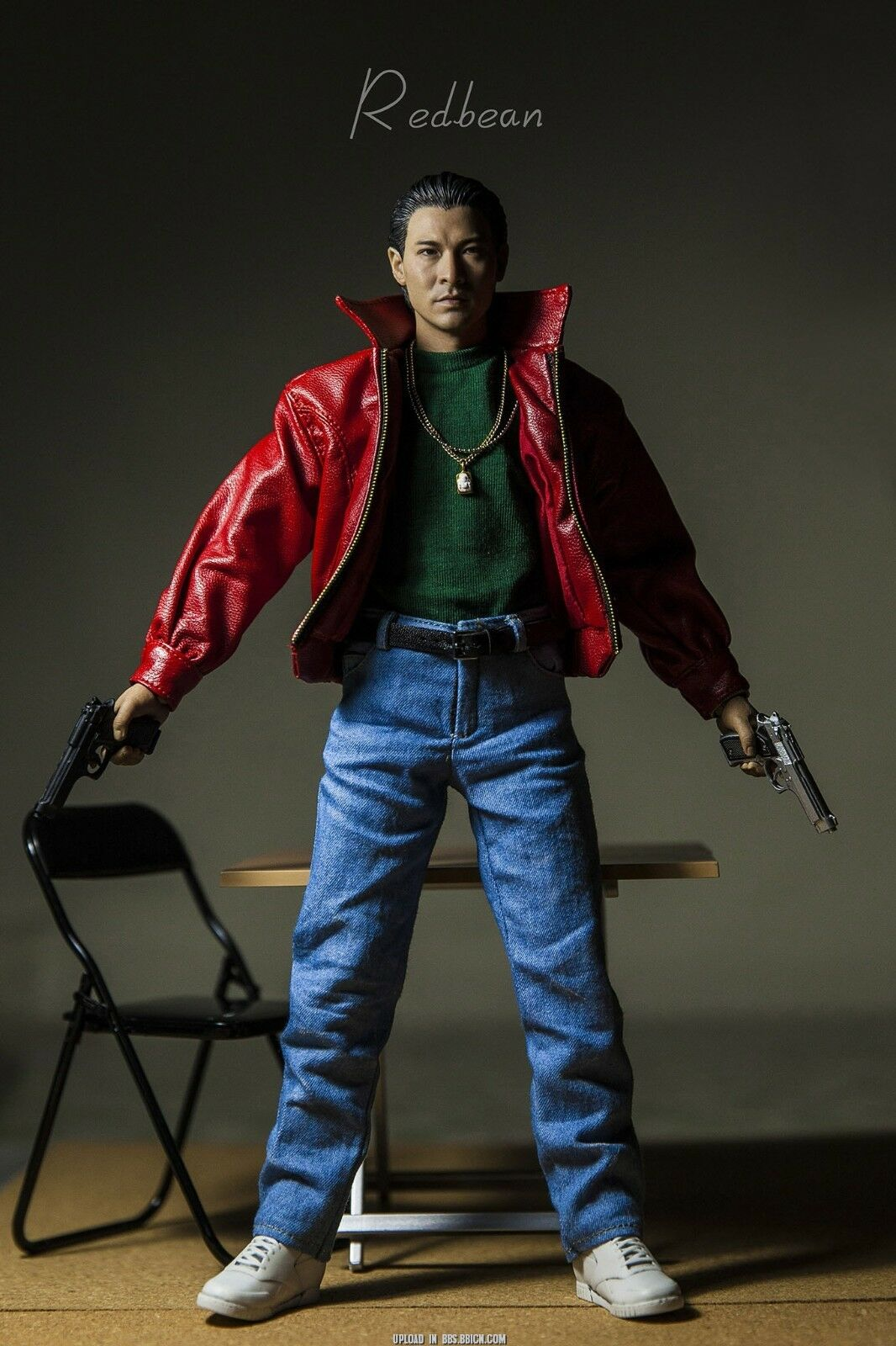 Enterbay 1/6 Andy Lau Action Figure Set Model God God God of Gamblers Scale Collectible 2ccd32