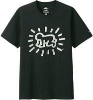 Keith Haring X Uniqlo 'radiant Baby' Sprz Moma Ny Art T-shirt S Silver/black
