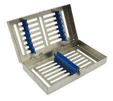Dental Instrument Autoclavable Sterilization Cassette Tray Holds 7pcs