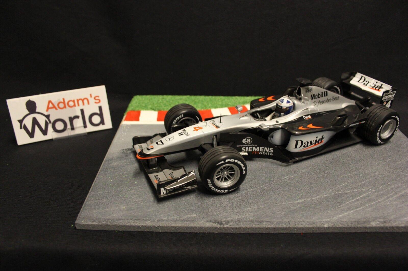 precios mas bajos Minichamps McLaren Mercedes MP4-16 2001 1 18  4 David David David Coulthard (GBR) (F1NB)  bajo precio del 40%