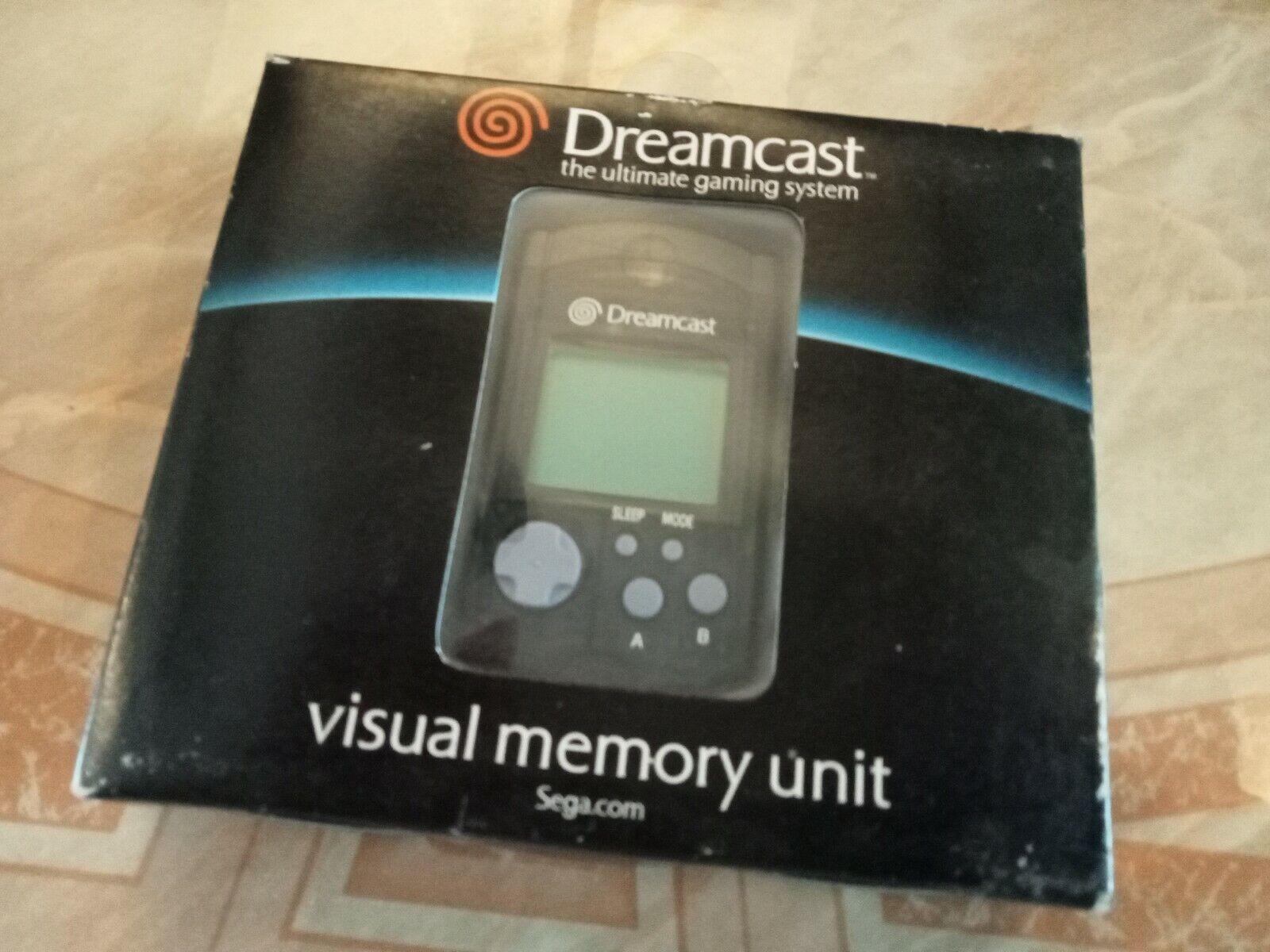 Sega Dreamcast Visual Memory Unit Boxed Brand New