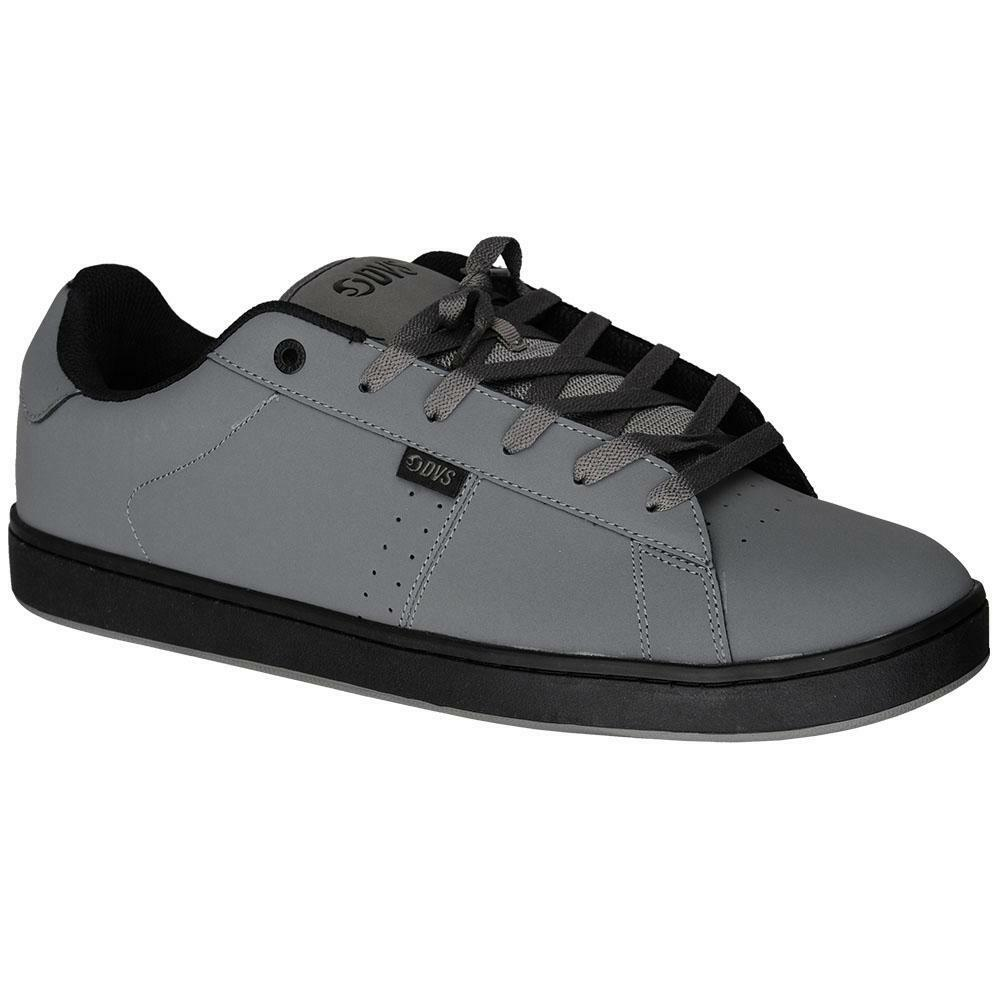 New dvs revival 2 grigio / nero 020 uomini scarpe da skateboard
