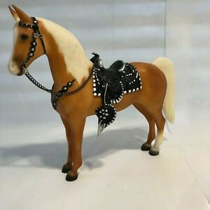 Breyer Western Horse #758 Roy Rogers' Trigger Hollywood Matte Palomino w/ Saddle