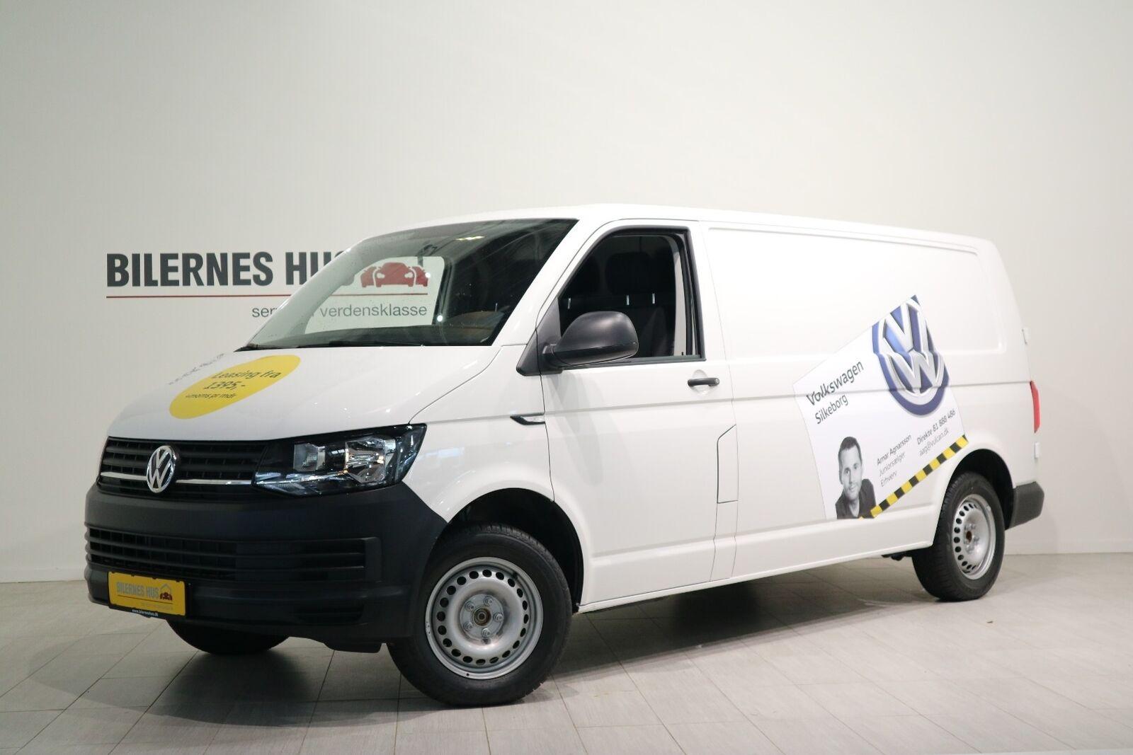 VW Transporter 2,0 TDi 102 Kassevogn lang