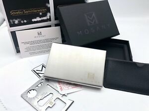 Modestil Mosany| Kreditkartenetui Mit Multitool-card | Aus Hochwertigem Edelstahl | Neu Der Preis Bleibt Stabil