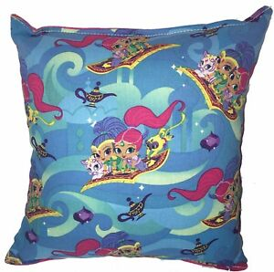Shimmer-and-Shine-Pillow-NickJr-HANDMADE-In-USA-Pillow