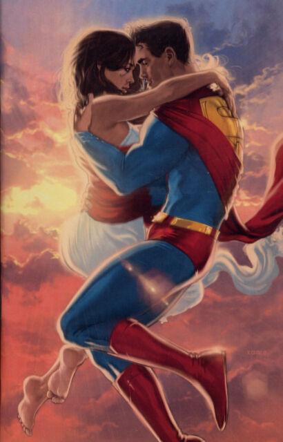 ACTION COMICS #1000 deutsch  VIRGIN-VARIANT  lim.222 Ex. KAARE ANDREWS  Superman