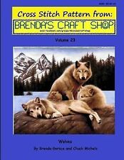 Wolves Cross Stitch Pattern from Brenda's Craft Shop - Volume 23 : Cross...