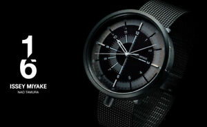 2019-New-ISSEY-MIYAKE-1-6-Nao-Tamura-NYAK001-Mechanical-Men-039-s-Watch-Black