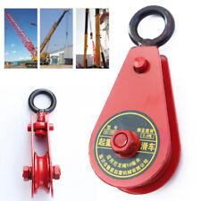 Heavy Duty Pulley Block /& Hook~ 32mm~Garden Dryer//Wheel//Hoist//Airer//Washing Line