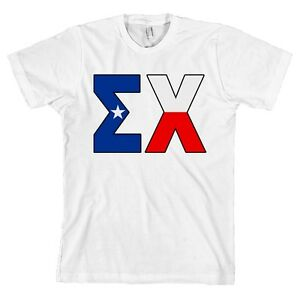 image is loading sigma chi texas flag letters bella canvas t
