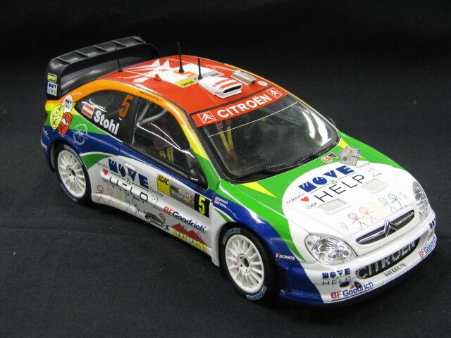 Sun Star Citroën Xsara WRC 2007 1 18  5 Stohl   Minor Rally Deutschland (MCC)