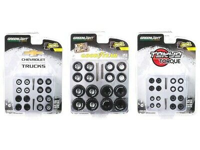 Shop Tool Accessories Set of 3 Multipacks Series 3 1//64 by Greenlight 16060SET