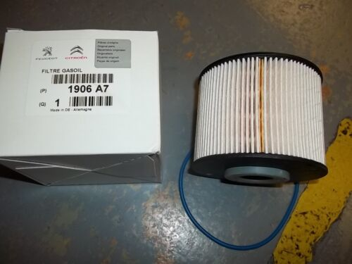 1906A7 Genuine Peugeot Diesel Fuel Filter 2.0 Hdi 16v