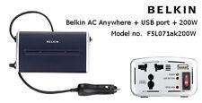 Belkin AC Anywhere_USB Port+200W-F5L071AK200W Car Charger