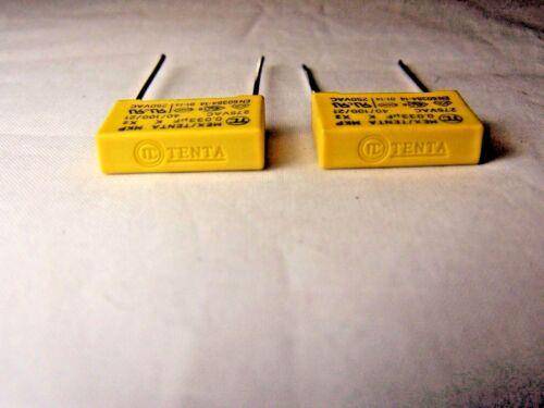 Tenta  Safety Capacitors 2pcs. MKP61 0.033 uF  275VAC