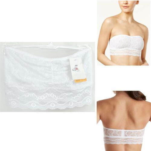 B.tempt/'d By Wacoal Lace Kiss Bandeau Strapless Bra White Ch Size New 916182