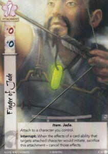Alt Art Legend Of The Five Rings L5R Finger of Jade