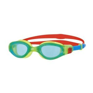 Zoggs-Junior-Phantom-Elite-Swimming-Goggles-in-Green-Blue-Red