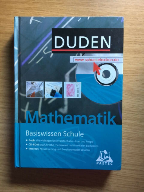 Duden Mathematik - Basiswissen Schule inkl. CD-ROM