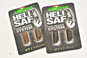 KORDA-NOUVEAU-Heli-Safe-compte-goutte-PERLE-Chod-Helicoptere-plomb-systeme