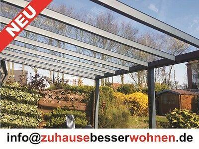 Terrassendach 5.000 X 3.500 Mm Sweet-Tempered Aluminium Terrassenüberdachung Exclusiv Xl