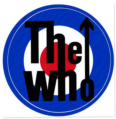 The Who Mod Scooter Vinyl Stickers Target RAF My Generation Rock English Band