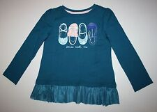 New Gymboree Butterfly Garden Ballet Shoe Dance With Me Top Tee Size 5T NWT