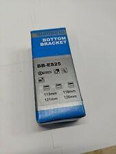 68 mm Octalink V2 Noir Shimano BB-ES25 Pédalier 121 mm