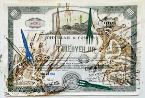 Fake Frogs With Real Forks,historisches Wertpapier,TAKEOVER BP, Ruppe Koselleck