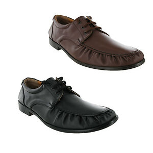 chums all leather soles soft casual lace up shoes black or
