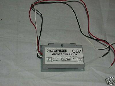 ADEMCO 687 VOLTAGE REGULATOR