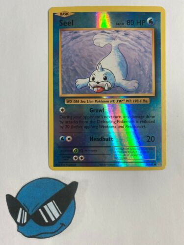 Pokemon TCG Seel 28//108 Reverse Holo XY12 Evolution