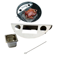 Smokenator1000 Charcoal Grill Conversion Set For Weber 22 & 22.5 Kettle Grill on sale