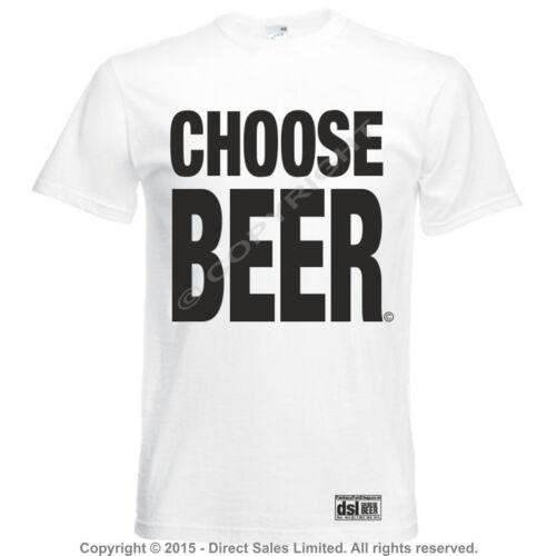 3XL Choisissez la bière T Shirt Bière Festival tirant d/'eau potable de véritables bière vie Unisexe S