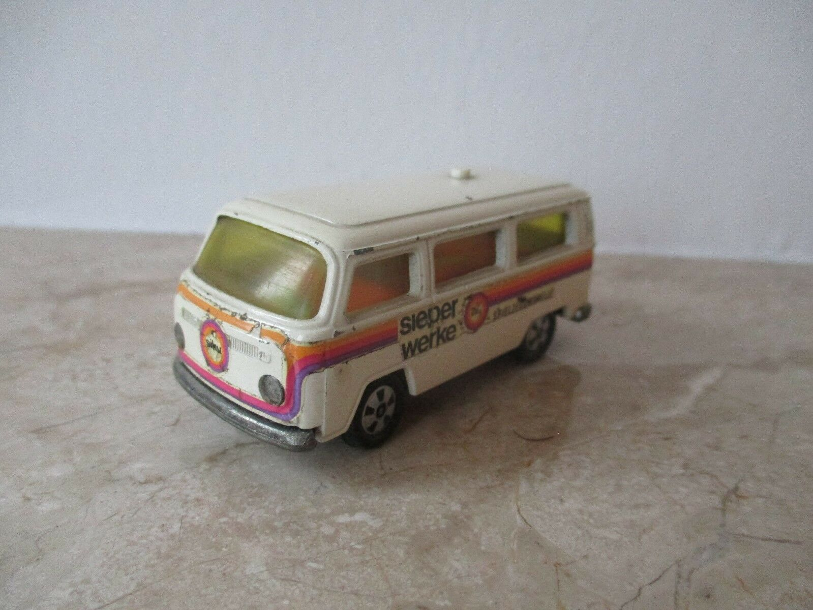Old VW Bus V 320 Sieper works Toy Models Thin Wheels Siku Model Car
